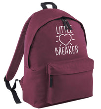 Little heartbreaker black childrens backpack