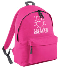 Little heartbreaker pink childrens backpack