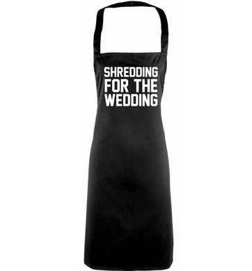 Get motivated and get fit for your big day! Our workout quotes and designs will get you ready to sweat! Perfect for any bride, groom or bridesmaid to be!  adults black apron