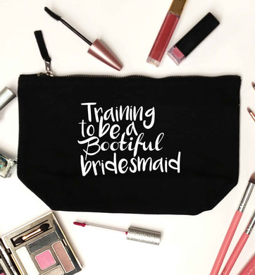 Get motivated and get fit for your big day! Our workout quotes and designs will get you ready to sweat! Perfect for any bride, groom or bridesmaid to be!  black makeup bag