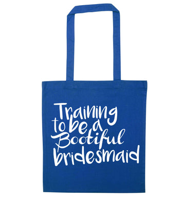 Get motivated and get fit for your big day! Our workout quotes and designs will get you ready to sweat! Perfect for any bride, groom or bridesmaid to be!  blue tote bag