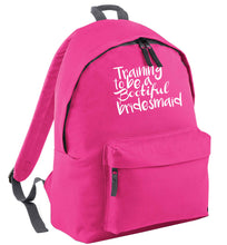 Get motivated and get fit for your big day! Our workout quotes and designs will get you ready to sweat! Perfect for any bride, groom or bridesmaid to be!  pink adults backpack