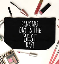 Pancake day is the best day black makeup bag