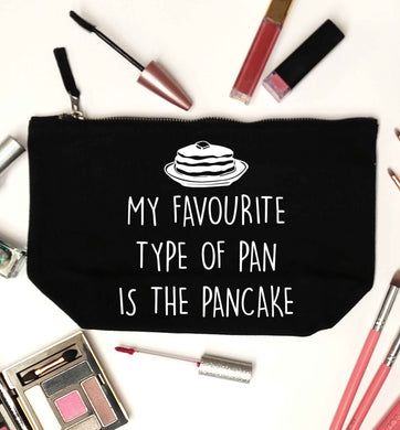 My favourite type of pan is the pancake black makeup bag
