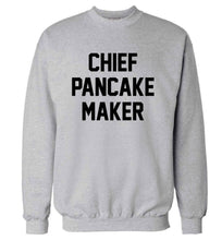 Chief pancake maker adult's unisex grey sweater 2XL