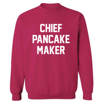 Chief pancake maker adult's unisex pink sweater 2XL