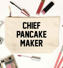Chief pancake maker natural makeup bag