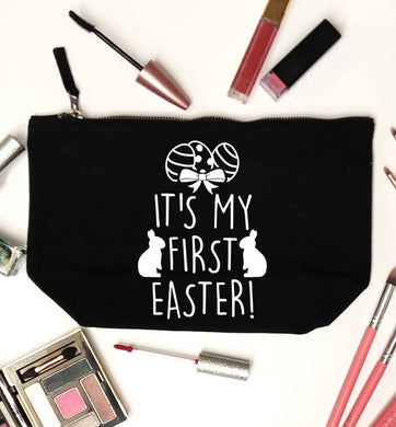 It's my first Easter black makeup bag