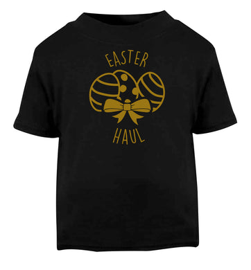 Easter haul Black baby toddler Tshirt 2 years