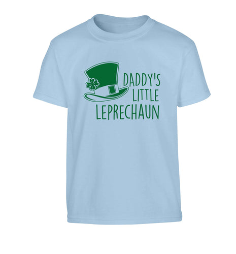 Daddy's lucky charm Children's light blue Tshirt 12-13 Years