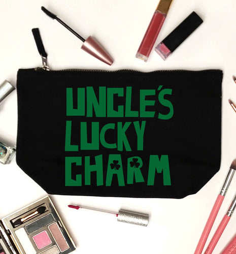 Uncles lucky charm black makeup bag