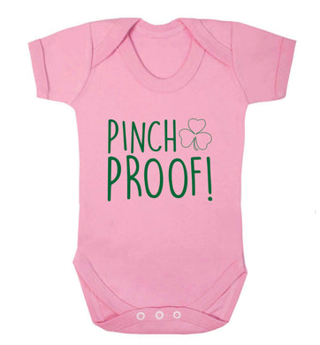 Pinch Proof baby vest pale pink 18-24 months