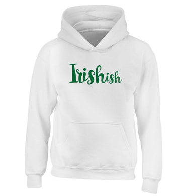 Irishish children's white hoodie 12-13 Years