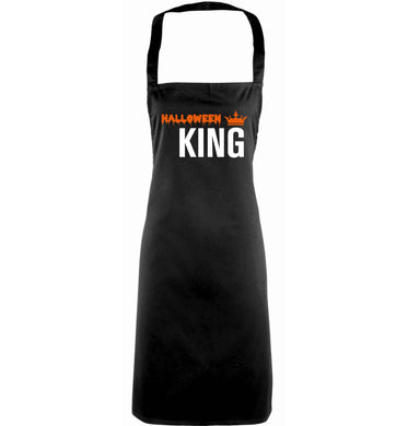 Halloween king adults black apron