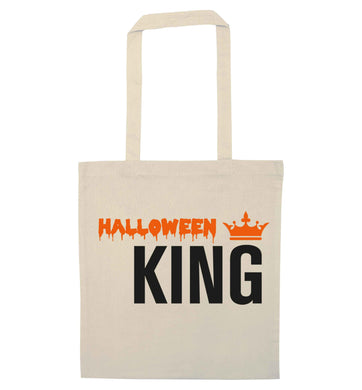 Halloween king natural tote bag