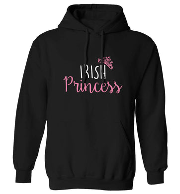 Irish princess adults unisex black hoodie 2XL