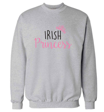 Irish princess adult's unisex grey sweater 2XL