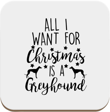 All I want for Christmas is a greyhound set of four coasters