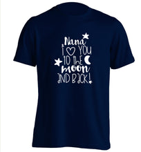 Nana's little bodybuilder adults unisex navy Tshirt 2XL