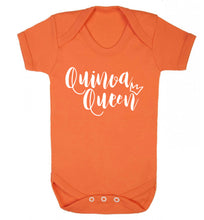 Quinoa Queen Baby Vest orange 18-24 months