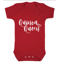 Quinoa Queen Baby Vest red 18-24 months