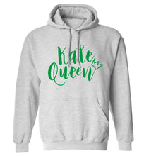 Kale Queen adults unisex grey hoodie 2XL