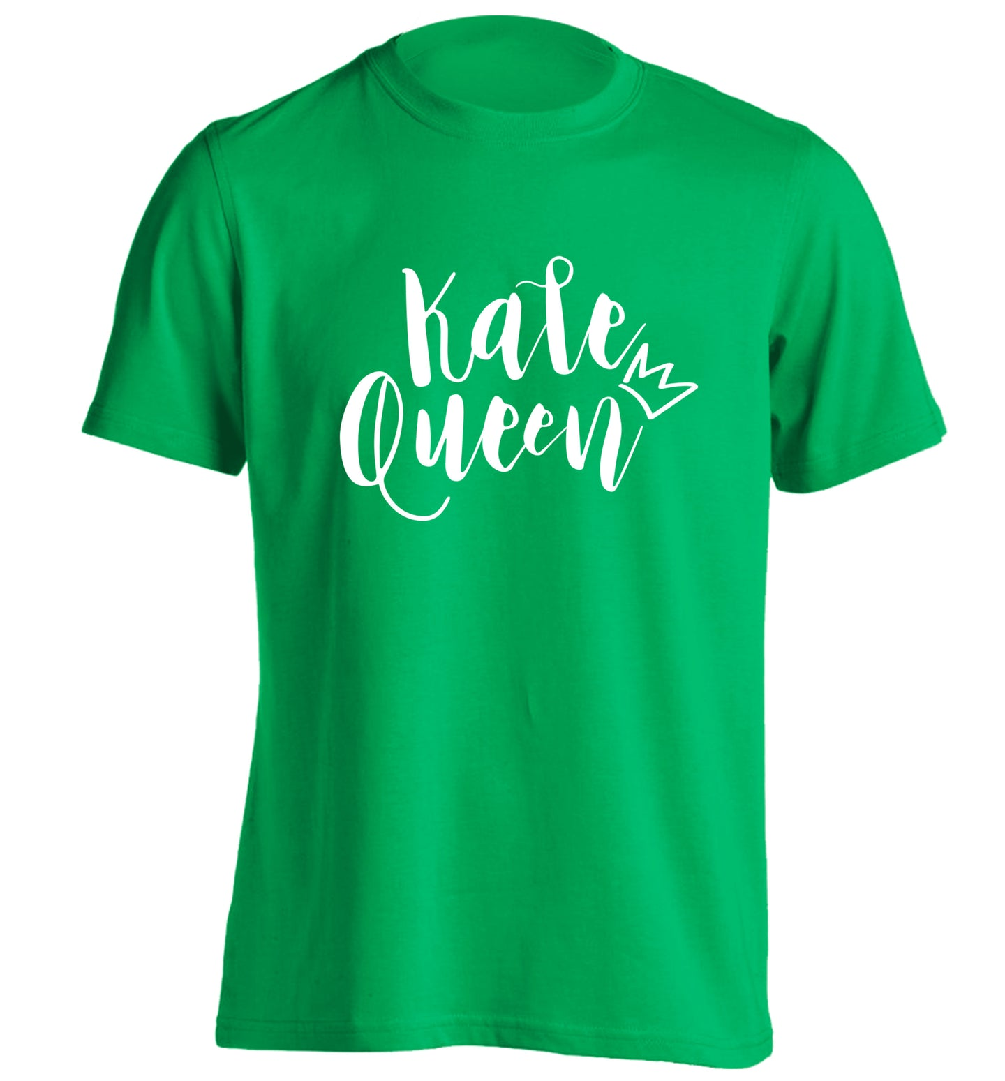 Kale Queen adults unisex green Tshirt 2XL