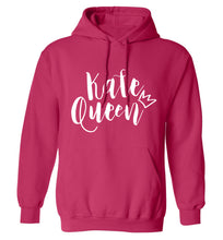 Kale Queen adults unisex pink hoodie 2XL