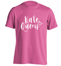 Kale Queen adults unisex pink Tshirt 2XL
