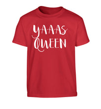 Yas Queen Children's red Tshirt 12-14 Years