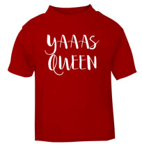 Yas Queen red Baby Toddler Tshirt 2 Years