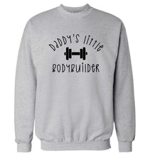 Daddy's little bodybuilder Adult's unisex grey Sweater 2XL