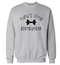 Nana's little bodybuilder Adult's unisex grey Sweater 2XL