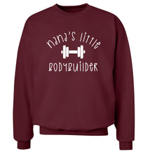 Nana's little bodybuilder Adult's unisex maroon Sweater 2XL