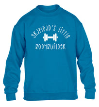 Grandad's little bodybuilder children's blue sweater 12-14 Years