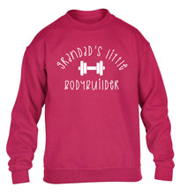 Grandad's little bodybuilder children's pink sweater 12-14 Years