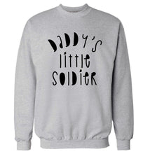 Daddy's little soldier Adult's unisex grey Sweater 2XL