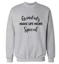 Grandads make life more special Adult's unisex grey Sweater 2XL