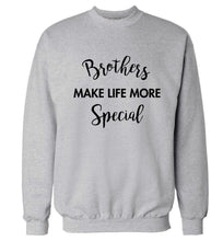 Brothers make life more special Adult's unisex grey Sweater 2XL