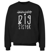 Only child big sister Adult's unisex black Sweater 2XL