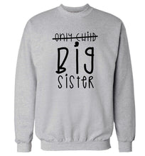 Only child big sister Adult's unisex grey Sweater 2XL