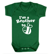 I'm a brother to be Baby Vest green 18-24 months