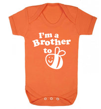 I'm a brother to be Baby Vest orange 18-24 months