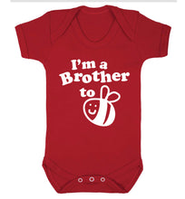 I'm a brother to be Baby Vest red 18-24 months