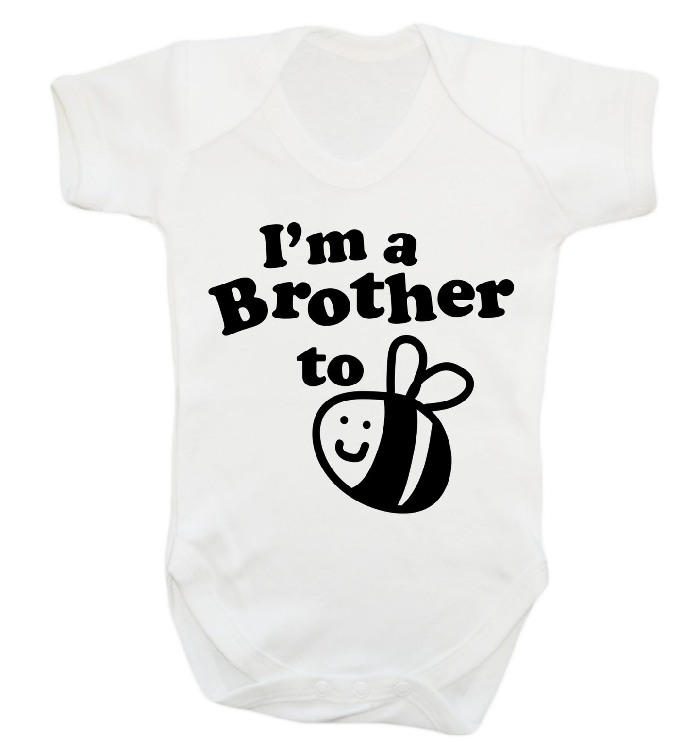 I'm a brother to be Baby Vest white 18-24 months