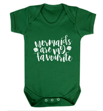 Mermaids are my favourite Baby Vest green 18-24 months