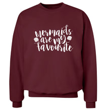 Mermaids are my favourite Adult's unisex maroon Sweater 2XL