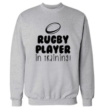 Rugby player in training Adult's unisex grey Sweater 2XL