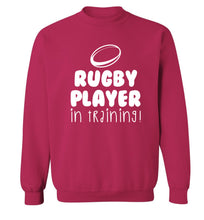 Rugby player in training Adult's unisex pink Sweater 2XL