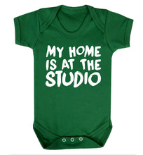 My home is at the studio Baby Vest green 18-24 months